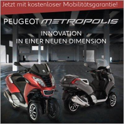 Dreirad Roller Peugeot Metropolis