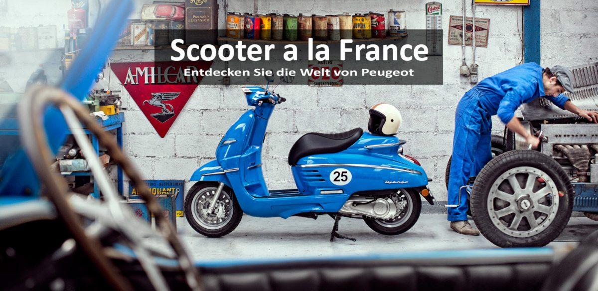 Peugeot Motorroller Django