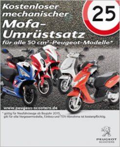 Mofa kaufen Peugeot Mofa Aktion
