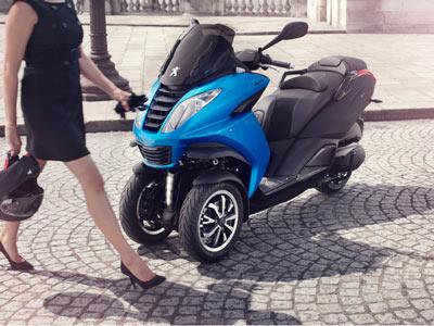 Motorroller Peugeot Metropolis 400 i