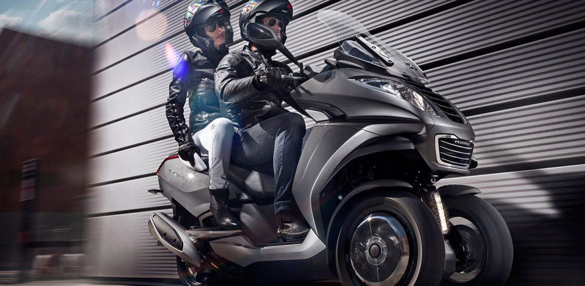 Motorroller Peugeot Metropolis 400i