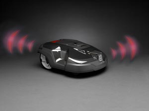 Husqvarna Automower 310 Mähroboter Alarm Diebstahlsicherung