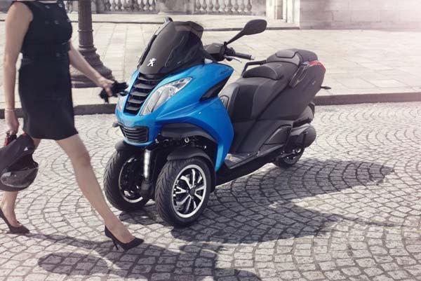 Dreirad Metropolis 400 ABS