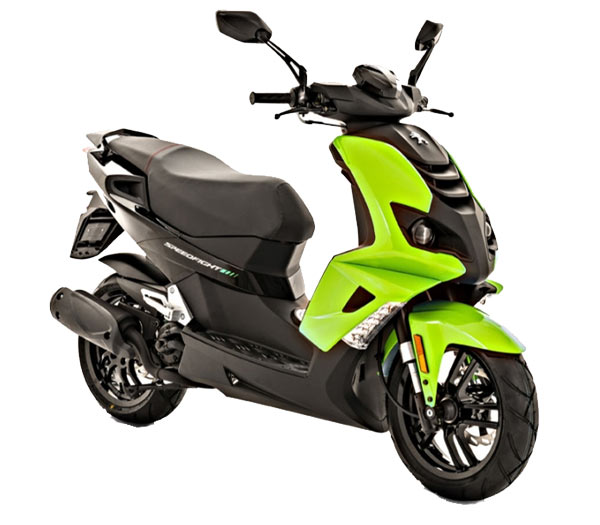 Peugeot Speedfight 4<br /> 50 AC / LC <br />apple green