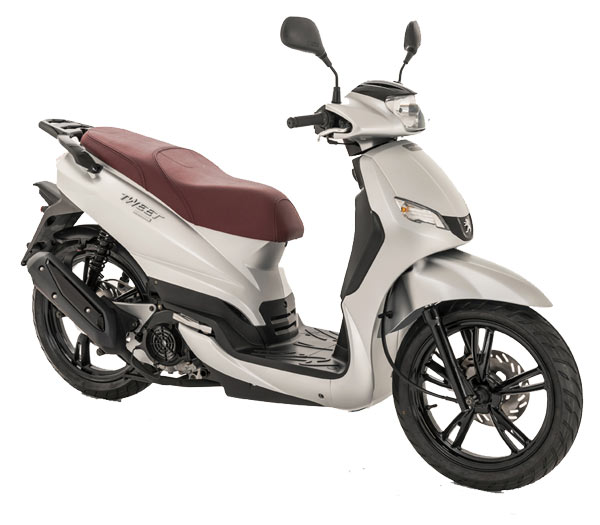 Peugeot Tweet 125 satin iron grey