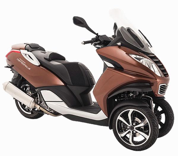 Motorroller Peugeot </br>Metropolis 400i ABS + TCS