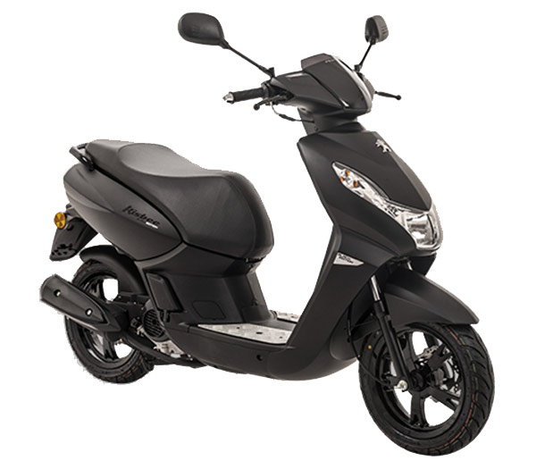 Peugeot Kisbee 50 Black Edition 2T / 4T<br />mad black