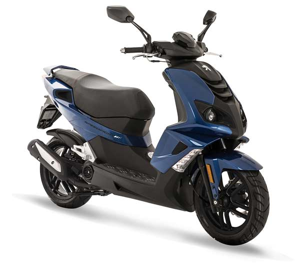 Peugeot Speedfight 4 50 Deep Ocean Blue