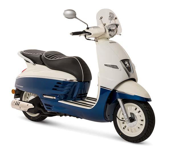 Peugeot Django 50 blau weiss